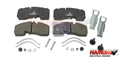 BPW DISC BRAKE PAD KIT 05.092.90.05.0 NEW
