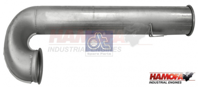 DAF EXHAUST PIPE 1365875 NEW