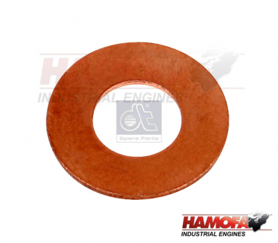 MAN COPPER WASHER 51.98701.0065 NEW