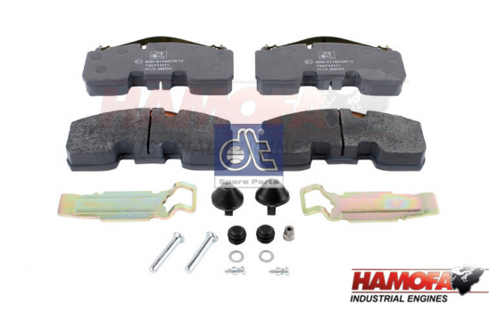 BPW DISC BRAKE PAD KIT 02.031.21.60.0 NEW