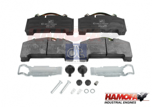 BPW DISC BRAKE PAD KIT 05.092.90.08.0 NEW