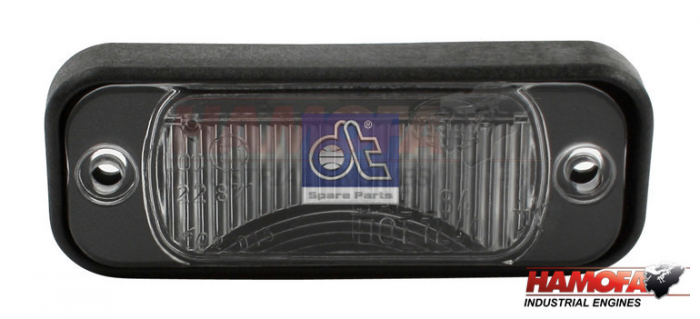 IVECO LICENSE PLATE LAMP 500257038 NEW