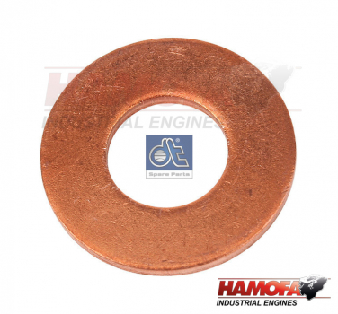 MAN COPPER WASHER 51.98701.0076 NEW
