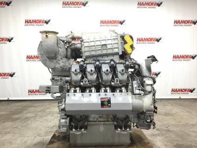 MTU 8V4000 L63 GAS FOR PARTS