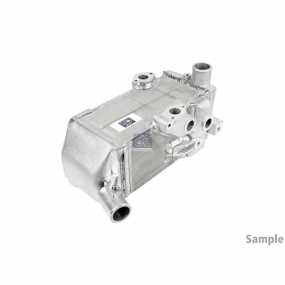 Buy MERCEDES MERCEDES OIL COOLER 0004380288 NEW - ENGINE - hamofa.com