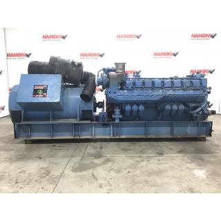 Buy MTU AEG 4506/04 MTU 16V396 GENERATOR 1875 KVA USED - Equipment - hamofa.com