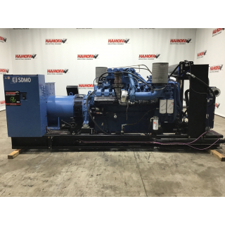 Buy MTU SDMO MTU 16V2000 GENERATOR 1000KVA USED - Equipment - hamofa.com