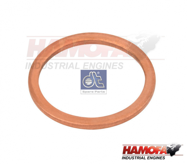 DAF COPPER WASHER 331335 NEW