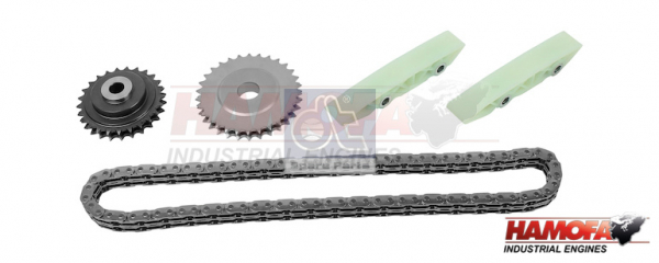 FIAT TIMING CHAIN KIT 504161356 NEW