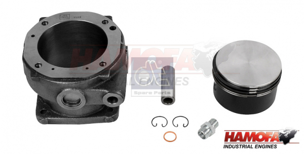 MAN PISTON AND LINER KIT 51.54105.0006 NEW
