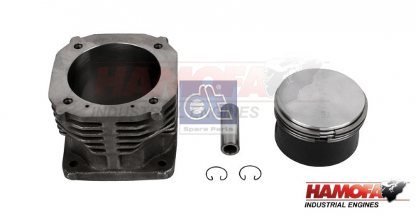 MAN PISTON AND LINER KIT 51.54105.0007 NEW