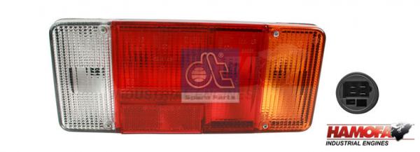 CITROEN TAIL LAMP 635157 NEW