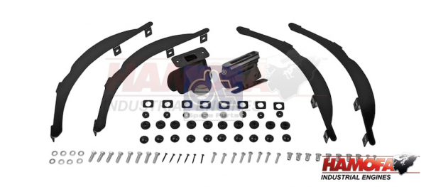 MAN MOUNTING KIT 81.63701.0032S NEW