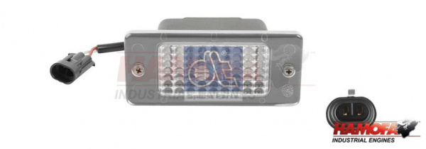 IVECO INTERIOR LIGHT 98462312 NEW