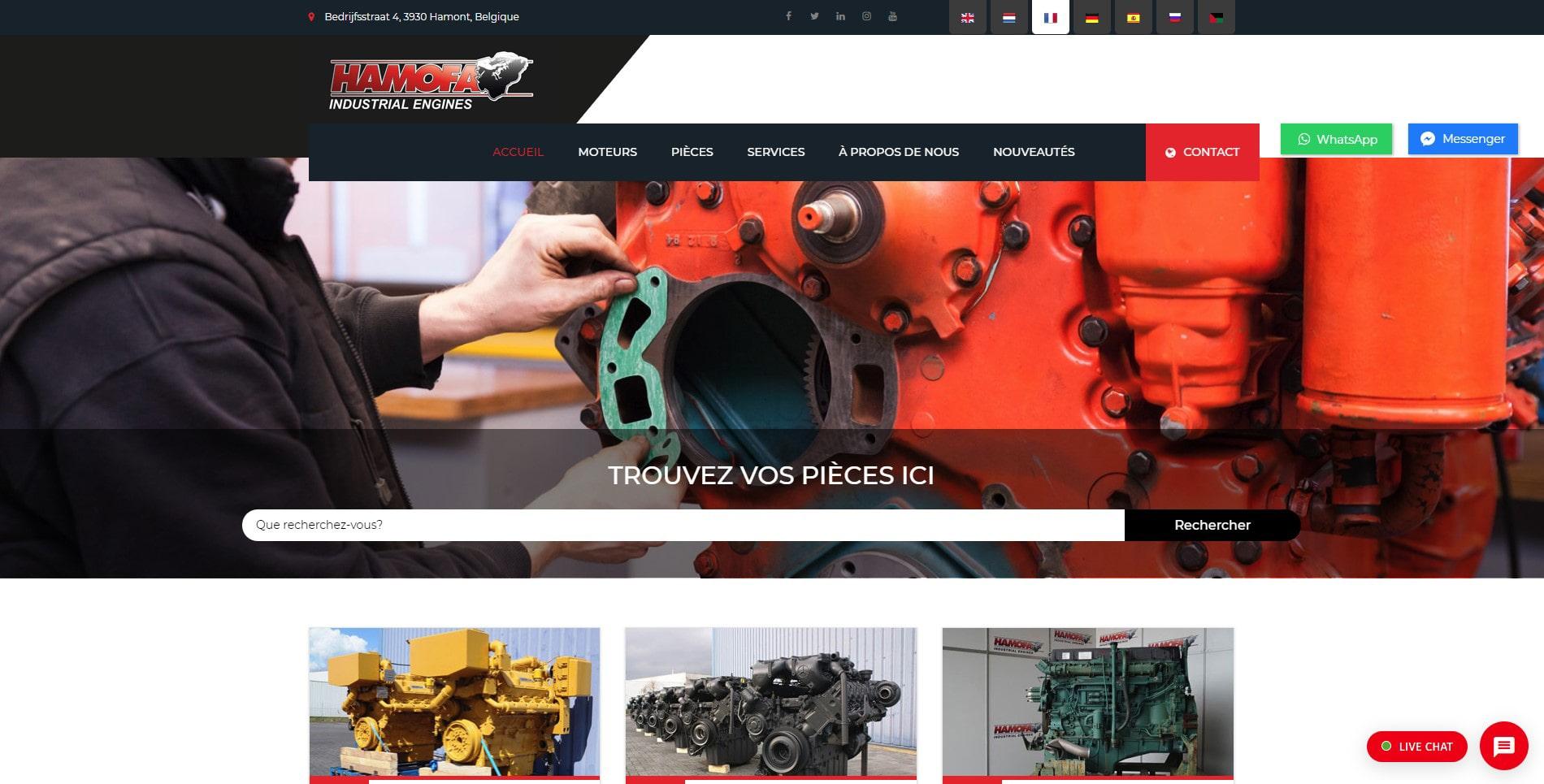 Notre nouveau site web a été lancé!